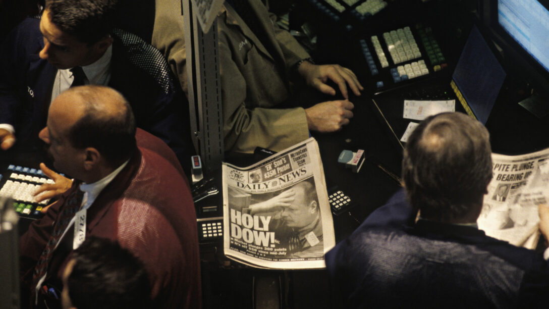 Dow Jones drops