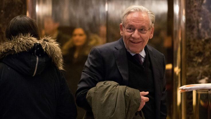 Bob Woodward at Trump Tower