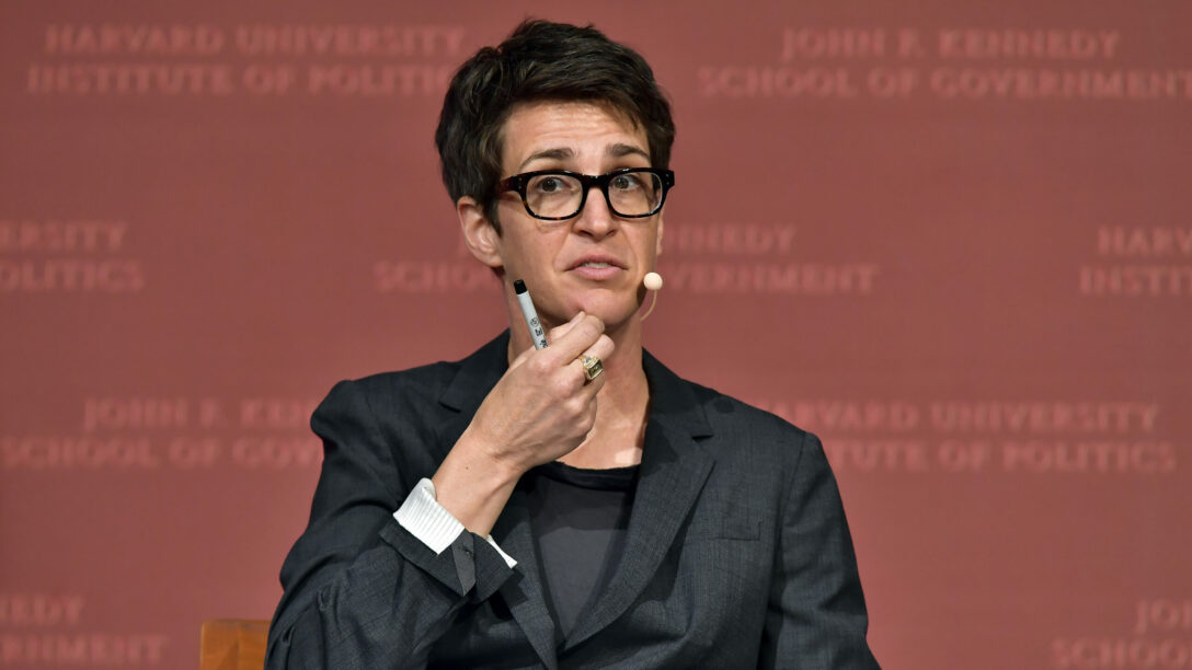 Rachel Maddow Speaks At Harvard