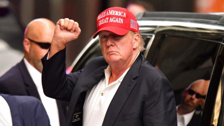 Donald Trump in New York
