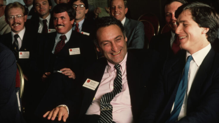 American Express Executives Sanford Weill and James Dimon