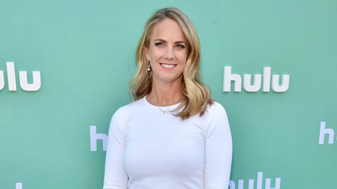 Kelly Campbell at a Hulu event in 2018